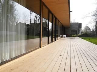 Terrazas de estilo  por Allegre + Bonandrini architectes DPLG