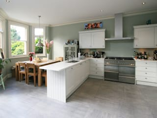 Transformed NW London Terrace Model Projects Ltd Kitchen
