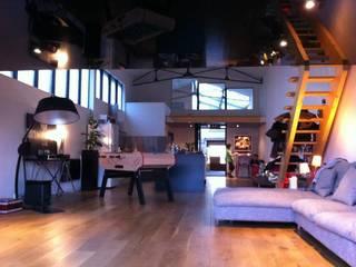 Allegre + Bonandrini architectes DPLG Living room