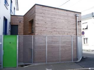 Extension BR Maisons originales par Allegre + Bonandrini architectes DPLG Éclectique