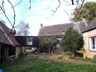 Extension Knight Maisons modernes par Allegre + Bonandrini architectes DPLG Moderne