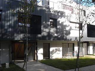 19 logements BBC bois massif Clichy 03 Maisons modernes par Allegre + Bonandrini architectes DPLG Moderne