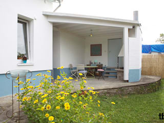 Sanierung eines Bungalows Klassischer Balkon, Veranda & Terrasse von tbia - Thomas Bieber InnenArchitekten Klassisch