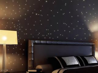 Wandtattoo Leuchtsterne 255 Stk. (als Punkte dargestellt):   von Wandtattoo-Loft