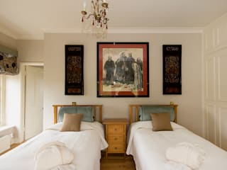 Bespoke Soft Furnishings: country Bedroom by Elizabeth Bee Interior Design