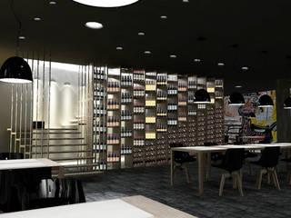 New Restaurant-Bar concept Negozi & Locali commerciali moderni di lca-office Moderno