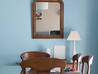 现代客厅設計點子、靈感 & 圖片 根據 Gwenaelle Hoyet 現代風