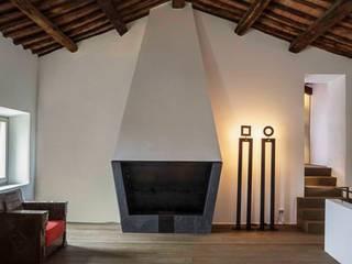 casa A2: Soggiorno in stile in stile Moderno di vps architetti