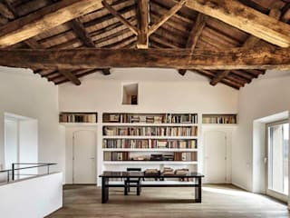 A2 house Modern study/office by vps architetti Modern