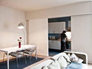 casa AA Cucina moderna di Gru architetti Moderno