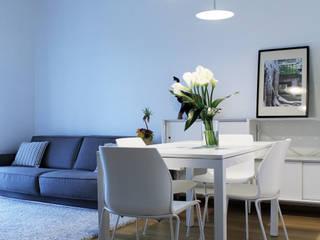 casa MG Soggiorno moderno di Gru architetti Moderno
