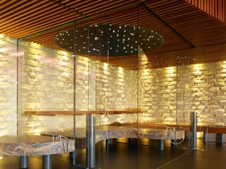 Private wellness area Spa moderno por Tobias Link Lichtplanung Moderno