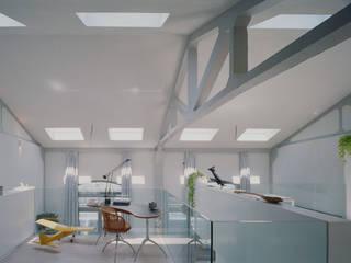 Skandinavische Wohnzimmer von battistellArchitetti Skandinavisch