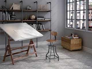 industrial Study/office by Equipe Ceramicas