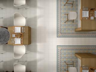 Phòng khách theo Equipe Ceramicas, Thực dân