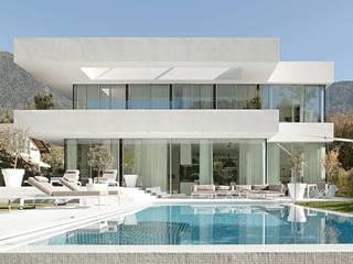 Modern Evler monovolume architecture + design Modern