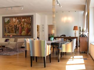 Behagliches Loft Ausgefallene Esszimmer von Elke Altenberger Interior Design & Consulting Ausgefallen