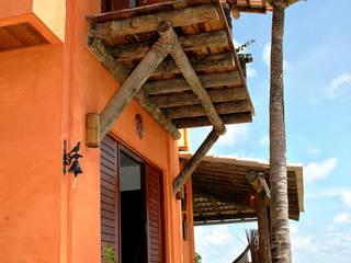 Casas de estilo  de Isnara Gurgel - Arquitetura + Interiores