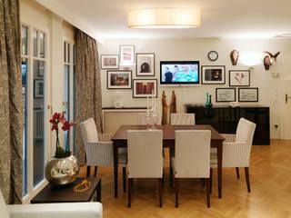Kleines Appartement für großen Kunden Ausgefallene Esszimmer von Elke Altenberger Interior Design & Consulting Ausgefallen