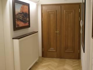 Kleines Appartement für großen Kunden Ausgefallener Flur, Diele & Treppenhaus von Elke Altenberger Interior Design & Consulting Ausgefallen