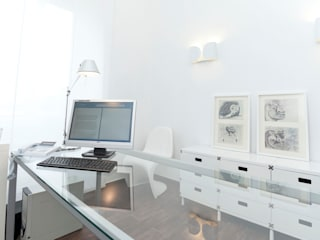 書房/辦公室 by Studio Guerra Sas,