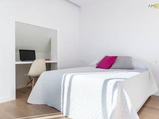 amBau Gestion y Proyectos Eclectic style bedroom
