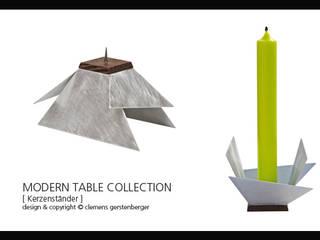 Modern Table Collection - Kerzenständer:   von GERSTENBERGER®