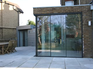 Dovercourt Road IQ Glass UK Modern dining room