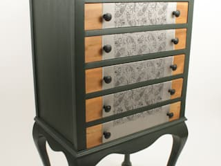 Upcycled Edwardian music cabinet van Narcissus Road Furniture Design Eclectisch