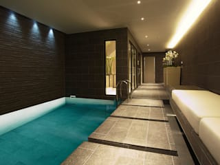 Subterranean Leisure Area Moderne Pools von London Swimming Pool Company Modern
