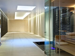 Moving Floor Pool Moderne Pools von London Swimming Pool Company Modern