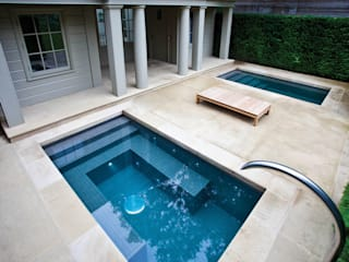 Twin Plunge Pools Koloniale Pools von London Swimming Pool Company Kolonial