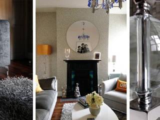 Livings de estilo  por Kate Lovejoy Interiors