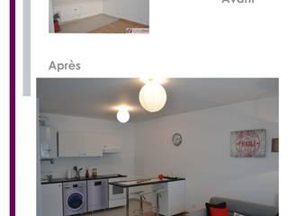 Décoration d'Appartement témoin Chambre moderne par valoridom Moderne