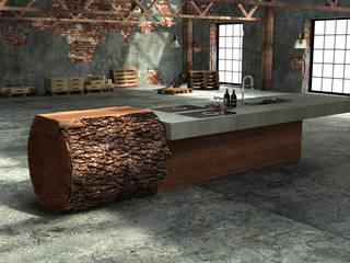 Baumstammküche von werkhaus Ausgefallen