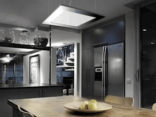 Pujol Iluminacion 現代廚房設計點子、靈感&圖片