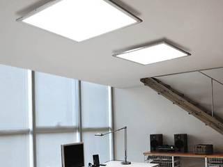 Modern Media Room by Pujol Iluminacion Modern