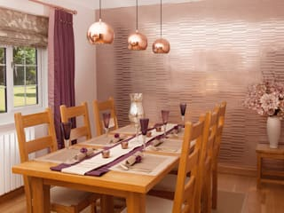 Warm Dining Whitehouse Interiors Modern Dining Room