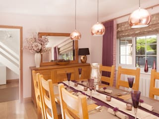 Warm Dining by Whitehouse Interiors Сучасний