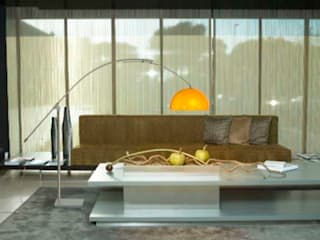 Modern Living Room by Pujol Iluminacion Modern