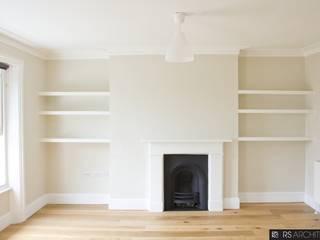 Salas / recibidores de estilo  por RS Architects,