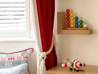 Richmond, 1930's Refurbishment: eclectic Nursery/kid's room by Amory Brown Ltd