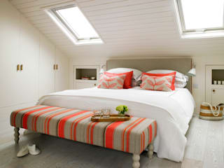 Putney, Loft Conversion: eclectic Bedroom by Amory Brown Ltd