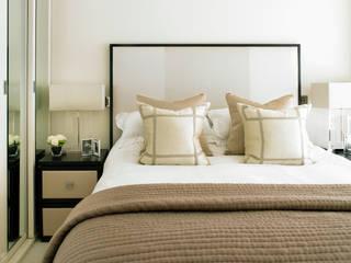 Paddington, Mews House: modern Bedroom by Amory Brown Ltd