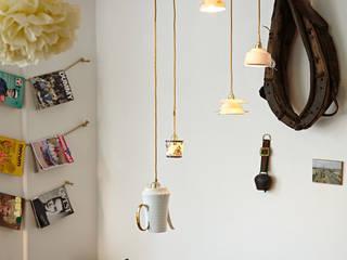 Friedas Glück - Cafe´und Geschenkeladen: skandinavische Esszimmer von Lieselotte