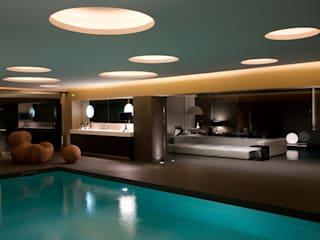 Cannata&Partners Lighting Design Spa de estilo mediterráneo