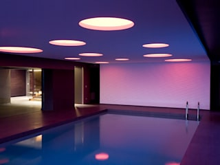 Cannata&Partners Lighting Design Spas de estilo mediterráneo