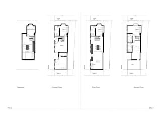 Casas de estilo  por RS Architects,