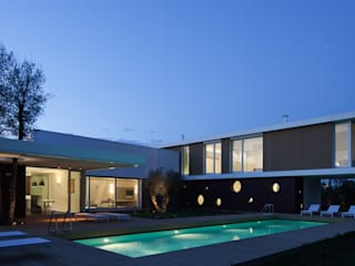 Cannata&Partners Lighting Design Casas modernas