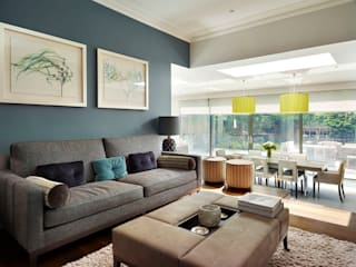 Victorian house conversion:  Kitchen by Genevieve Hurley Interiors Ltd